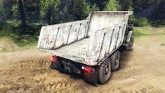 The body of the truck on Ural
