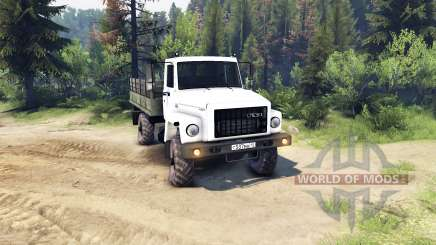GAZ 3308 Sadko for Spin Tires