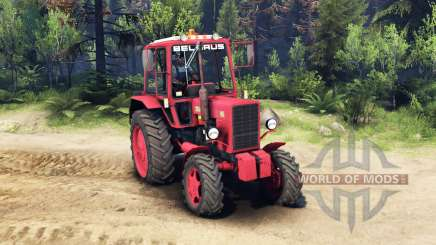 MTZ Belarus 82.1 for Spin Tires