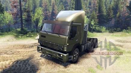 KamAZ-5410 v2.0 for Spin Tires