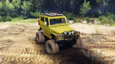 Suzuki Samurai LJ880 green for Spin Tires