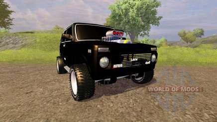 VAZ 2121 Niva Monster for Farming Simulator 2013
