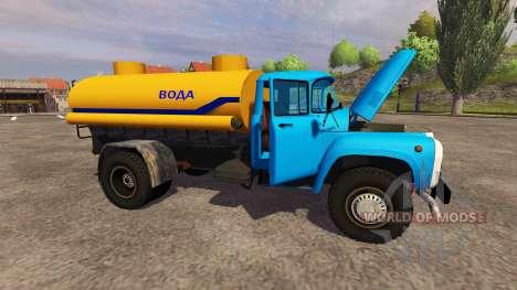 ZIL 130 water for Farming Simulator 2013