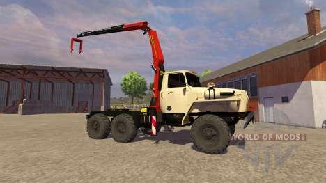 Ural-5557 crane ivory for Farming Simulator 2013