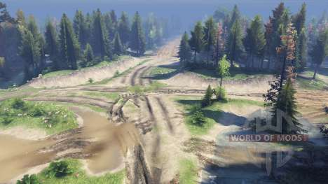 Map North for Spin Tires