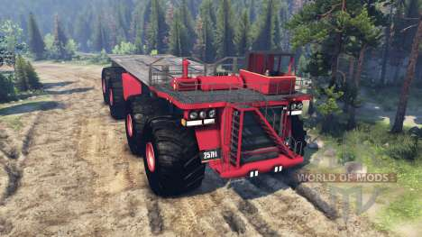 Monster truck for Spin Tires