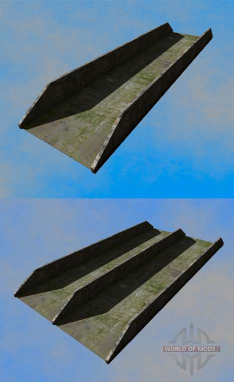 Silage pit (trench) for Farming Simulator 2013
