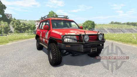 Toyota Land Cruiser 100 v2.0 for BeamNG Drive