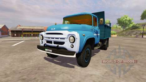 ZIL 130 MMP 4502 blue for Farming Simulator 2013