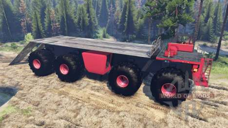 Monster truck for Spin Tires