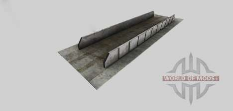 Silage pit (fortified) for Farming Simulator 2013