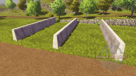Silage pit for Farming Simulator 2013