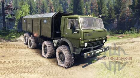 KamAZ-6350 Mustang 1998 for Spin Tires
