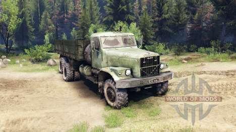 KrAZ-257 PJ1 for Spin Tires