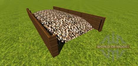 Silage pit for sugar beet for Farming Simulator 2013