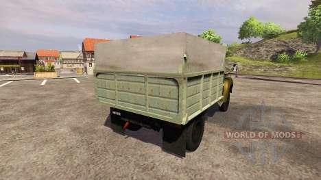 ZIL 130 MMP 4502 khaki for Farming Simulator 2013
