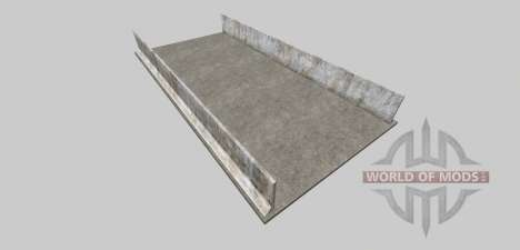 Silage pit (concrete) for Farming Simulator 2013