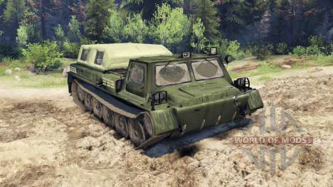 GAZ-71 (GT-CM) for Spin Tires