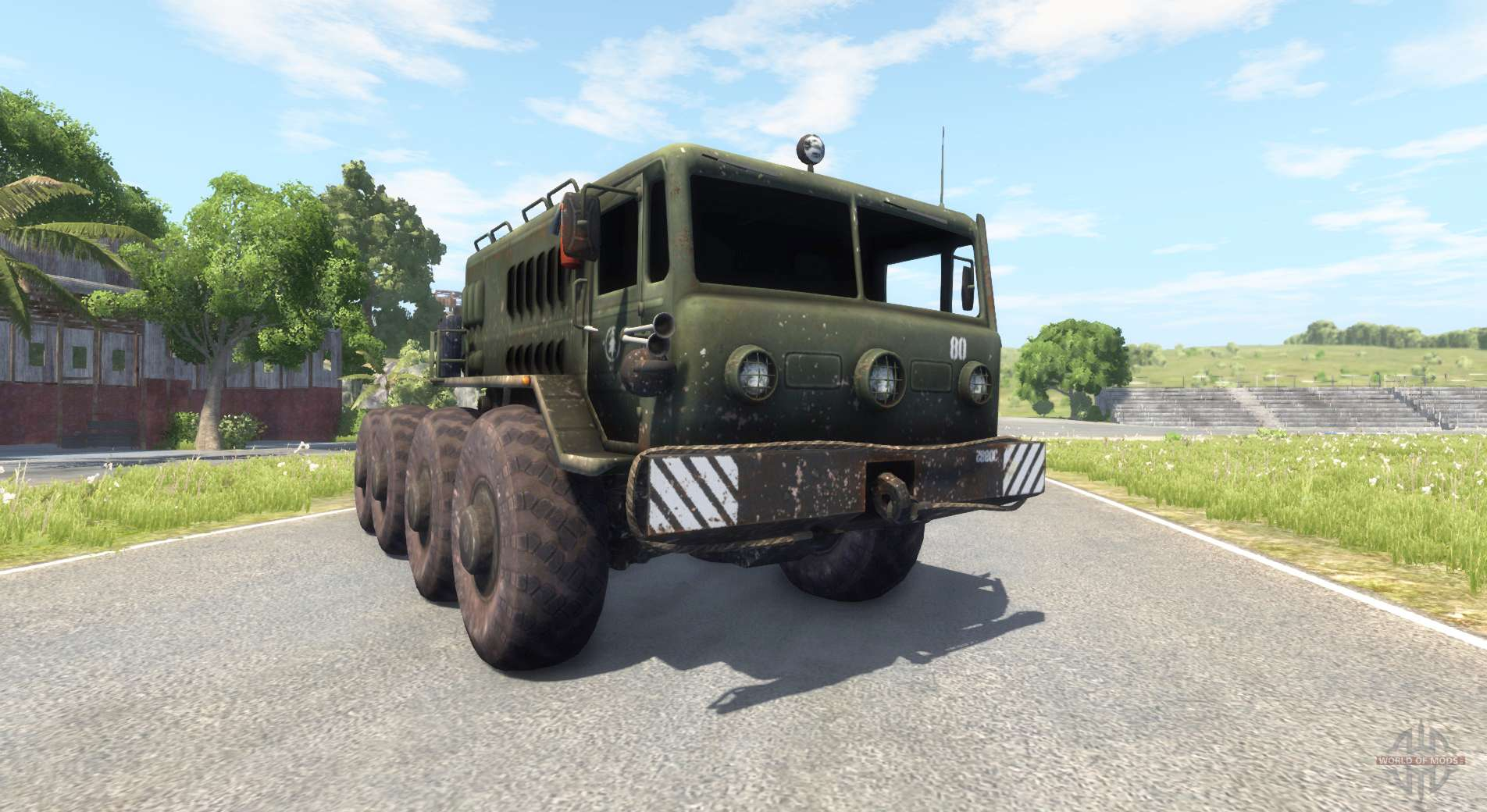 Right Hand Drive Jeep >> MAZ 535 for BeamNG Drive