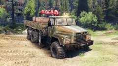 KrAZ-260 v2.0 for Spin Tires