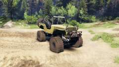 Jeep Willys tan