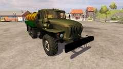 Ural-4320 milk
