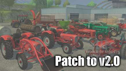 Patch to version 2.0 for Farming Simulator 2013