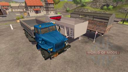 Ural-4320-19 for Farming Simulator 2013