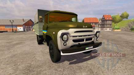 ZIL 130 MMP 4502 khaki for Farming Simulator 2013
