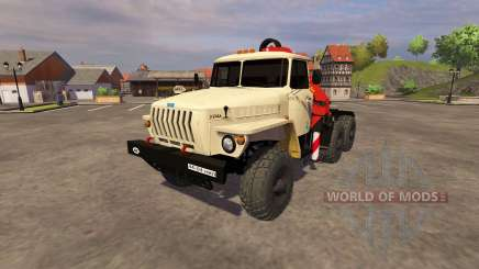 Ural-5557 crane ivory for Farming Simulator 2013