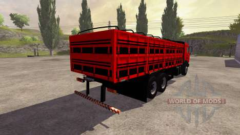 KamAZ-54115 Board for Farming Simulator 2013