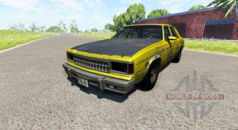 American Sedan skin3 for BeamNG Drive