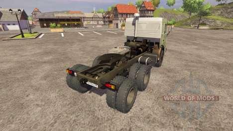 KamAZ-54115 2004 for Farming Simulator 2013