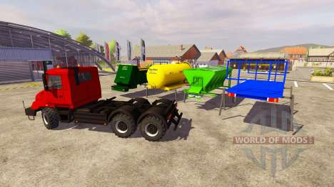 TATRA 163 for Farming Simulator 2013