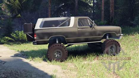 Dodge Ramcharger II 1991 default for Spin Tires