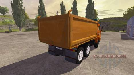 KamAZ-54115 truck for Farming Simulator 2013