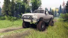Dodge Ramcharger II 1991 tan for Spin Tires