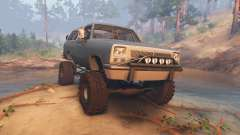 Dodge Ramcharger II 1991 blue grey-clean for Spin Tires