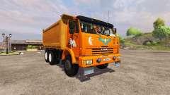 KamAZ-54115 truck for Farming Simulator 2013