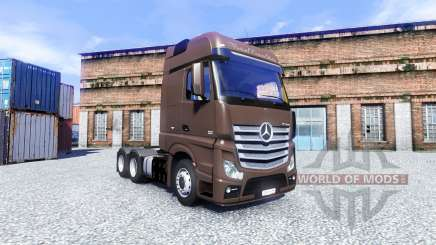 Mercedes-Benz Actros for Euro Truck Simulator 2