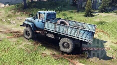 GAZ-3308 for Spin Tires