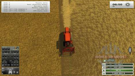 GPS for Farming Simulator 2013