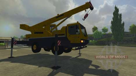 Liebherr LTM 1030 for Farming Simulator 2013