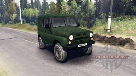 UAZ-469 B for Spin Tires