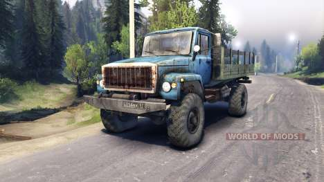 GAZ-3308 for Spin Tires