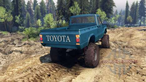 Toyota Hilux Truggy 1981 v1.1 blue for Spin Tires