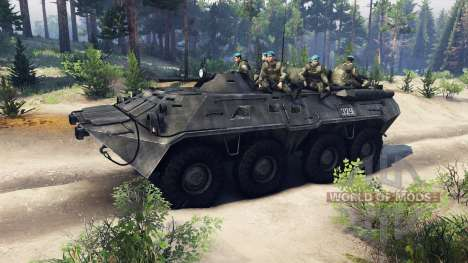 BTR-80 for Spin Tires