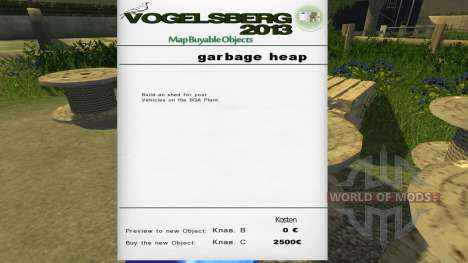 Map Buyable Object for Farming Simulator 2013