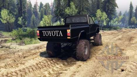 Toyota Hilux Truggy 1981 v1.1 black for Spin Tires