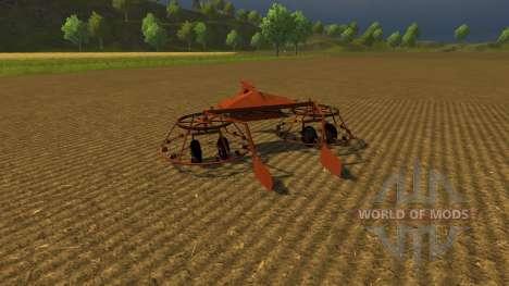 Rake mounted 4.2 for Farming Simulator 2013